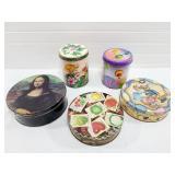 Mona Lisa Tin Lot