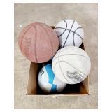 5 Old Basketballs Need Air