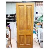 Solid Wood Door 30 x 81