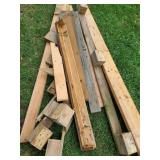 Assorted Pieces Of Wood SEE PICS