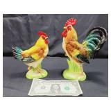 Napco Ceramic Roosters