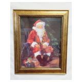 Very Pretty Santa Picture 15 x 18