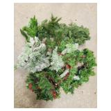 Tote Of Craft & Greenery Pieces