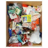 Box Of Craft & Greenery Pieces