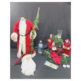 Christmas Decor  TLC Santas Head Needs Attached