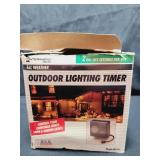 Outdoor Timer Untested