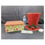 Gift Box & Lighted Hat