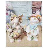 Bunny Garden Statues