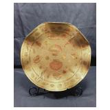 Gold Sea Themed Tray / Plate