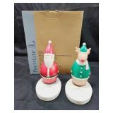 Party Lite Nick & Rudy Candle Holders