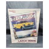 57 Classic Latch Hook Rug