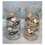 1958 Surfing Tubing Snoopy Glasses
