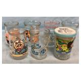 Vtg Jelly Jars Tom & Jerry Pepe Le Pew