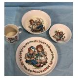 1969 Raggy Ann & Andy Childs Dish Set