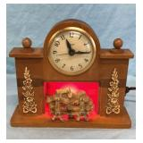 United Fire Place Mantle Clock
