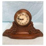 Sessions Wooden Ornate Mantle Clock