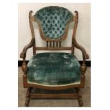 Antique Victorian Rocker