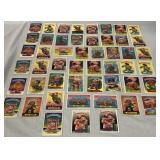50 Vintage Garbage Pail Kids Sticker Cards