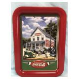 Drink Coca Cola Large Metal Tray
