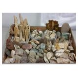 PETRIFIED WOOD, STONES & AGATES