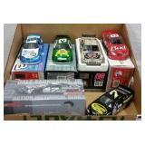 (5) DALE EARNHARDT, JR NASCAR 1/24 DIE CAST CARS