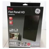 NEW GE FLAT PANEL 4K ULTRA-HD TV ANTENNA
