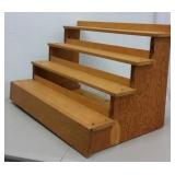 SOLID WOOD DISPLAY STAND