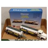 LIMITED EDITION CHEVRON TANKER TRUCK & TRAILER