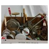 VINTAGE KITCHEN TOOLS & UTENSILS