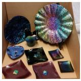 HANDMADE DICHROIC GLASS DECOR