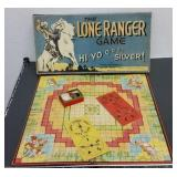 1938 LONE RANGER BOARD GAME