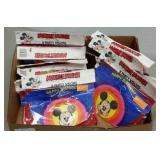 NEW OLD STOCK  -  MICKEY MOUSE B-DAY PARTY VISORS