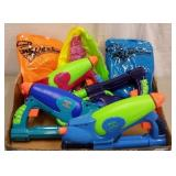 SUMMERTIME FUN - SUPER SOAKERS & INFLATABLES TOYS