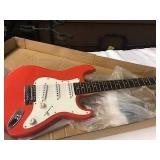 3/4 Jay Turser JT-30 stratocaster fiesta red