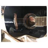 1/2 size Oscar Schmidt OG1 Black Acoustic
