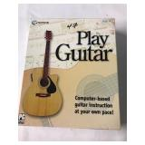Play guitar computer based guitar instruction