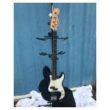 Midnight Blue Fender Squier Electric Bass Guitar