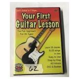 DVD guitar lessons for beginners