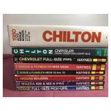 8 Haynes & Chilton Service Manuals