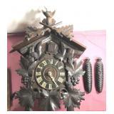 Vintage Made in Germany Cuckoo Clock-workings are