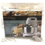Kitchen Living 4 quart stand mixer new in the box