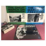Rev Martin Luther King 3-Vinyl Motown Records and