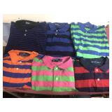 6-Ralph Lauren Polo Shirts XXL