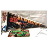 4 Dale Jarrett pennants and a Bobby LaBonte