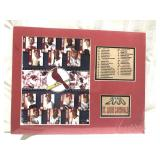 14 x 12 St. Louis Cardinals 2000 matted and