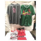 Lot of St. Louis Cardinals shirt size ex L