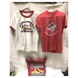 Three St. Louis Cardinals World Series shirts