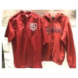 2 St. Louis Cardinals shirt-one is a extra large