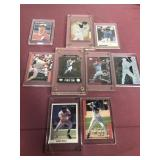 9 MLB Cards in Thick Cases