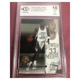 1996 #13 Kobe Bryant Rookie Card-Graded-BCCG 10